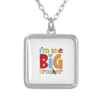 IM THE BIG BROTHER SILVER PLATED NECKLACE