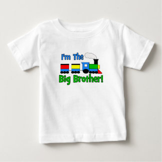 I'm The Big Brother TRAIN Baby T-Shirt
