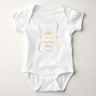I'm the BIG miracle... baby t-shirt