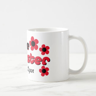 I'm The Big Sister In Black & Red Mugs