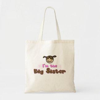 I'm the Big Sister Tote Budget Tote Bag