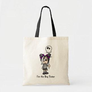 I'm the Big Sister totebag Budget Tote Bag
