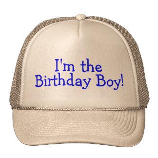 Im The Birthday Boy Blue Mesh Hats