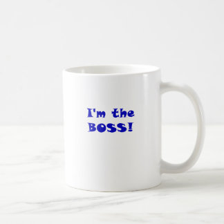 Im the Boss Coffee Mug
