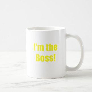 Im the Boss Coffee Mugs