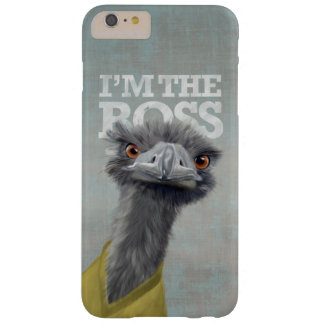 I'm the Boss. Ostrich Barely There iPhone 6 Plus Case