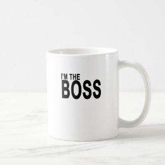 I'm The Boss T-Shirt . Basic White Mug