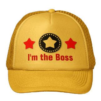 I'M THE BOSS Template Modern Design V3 GOLD RED Cap