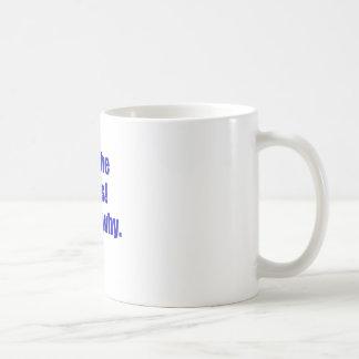 Im the Boss Thats Why Coffee Mugs
