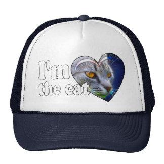I'm the cat cap