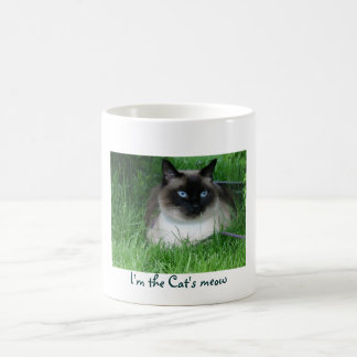 I'm the Cat's meow Coffee Mug