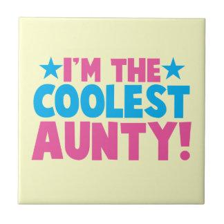 I'm the COOLEST Aunty! Ceramic Tiles