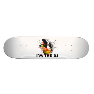 I'm The DJ Rockin The Turntables 19.7 Cm Skateboard Deck