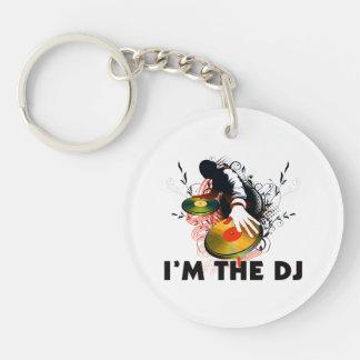 I'm The DJ Rockin The Turntables Key Ring