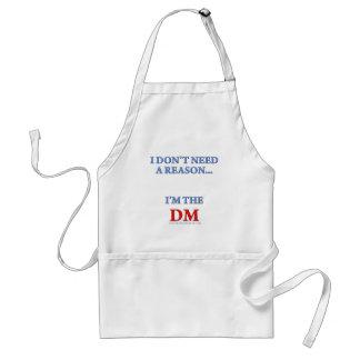 I'm the DM Adult Apron