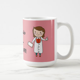I'm the Doctor Basic White Mug