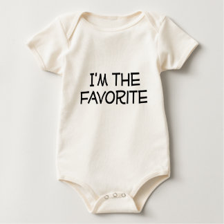 I'm the Favorite Baby Bodysuit