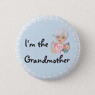 I'm the Grandmother 6 Cm Round Badge