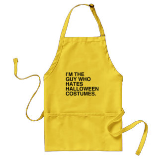 I'M THE GUY WHO HATES HALLOWEEN COSTUMES.png Apron