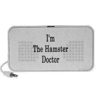 I'm The Hamster Doctor Notebook Speaker