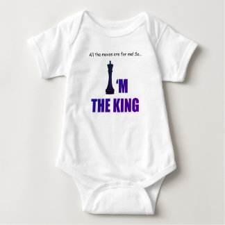 I'm the King Baby Jersey Bodysuit