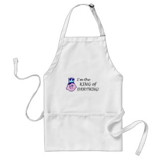Im The King Of Everything Standard Apron