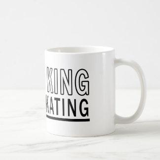 I'm The King Of Ice Skating Basic White Mug