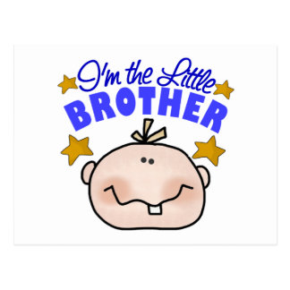 I'm The Little Brother Postcards