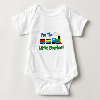 I'm The Little Brother - TRAIN design Baby Bodysuit