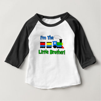 I'm The Little Brother - TRAIN design Baby T-Shirt