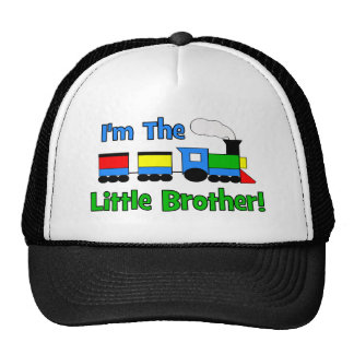 I'm The Little Brother - TRAIN design Cap