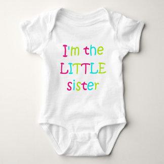 I'm the Little Sister Baby Bodysuit
