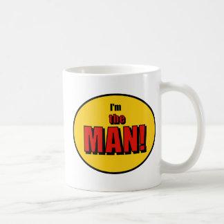 I'm the Man (or Woman)! Basic White Mug