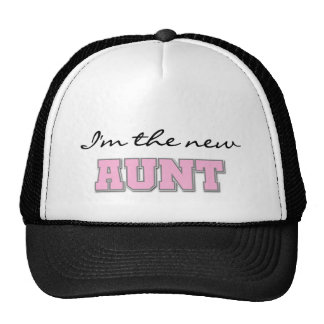 I'm the New Aunt tshirts and Gifts Cap