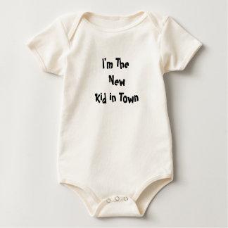 I'm the new kid -Infant Organic creeper