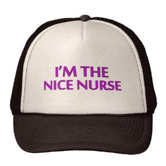 I'm the Nice Nurse Trucker Hat