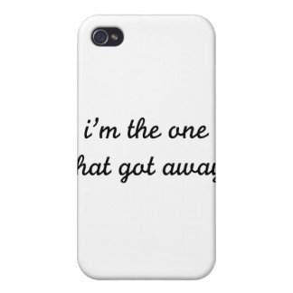 I'm The One That Got Away Covers For iPhone 4