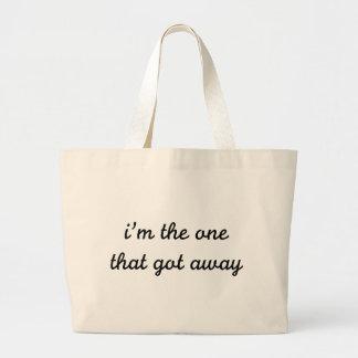 I'm The One That Got Away Jumbo Tote Bag
