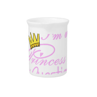 I'm The Princess Beverage Pitchers