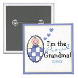 I'm The Proud Grandma-Blue