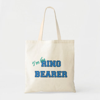 I'm The Ring Bearer Budget Tote Bag