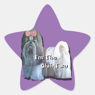 I'm the Shih Tzu - Star Stickers  - Sheet of 20