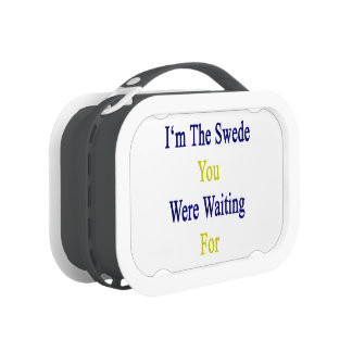 I'm The Swede You Were Waiting For Lunch Box