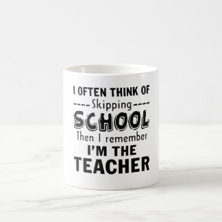 I'm the Teacher Coffee Mug