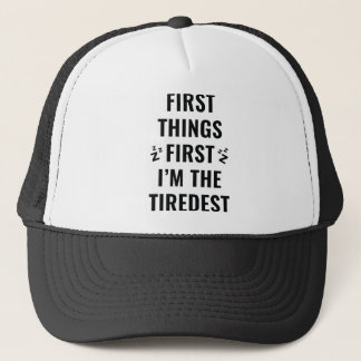I'm The Tiredest Trucker Hat