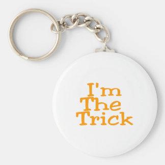 I'm The Trick Basic Round Button Key Ring
