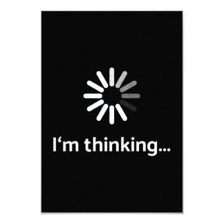 I'm thinking (loading | nerd) black background card