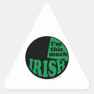 I'm This Much Irish - 25% Stickers