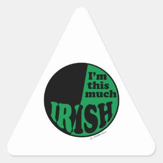 I'm This Much Irish - 50% Stickers
