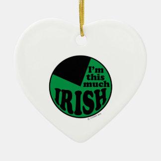 I'm This Much Irish - 75% Ornaments